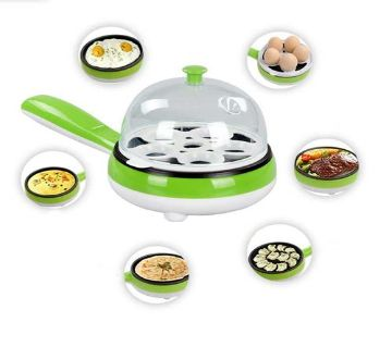 Multifunctional Electric Egg Boiler and Fry Pan