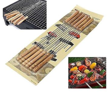 12 Pieces Barbecue Grill Sticks Set