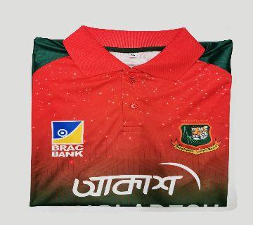 Bangladesh National Cricket Team Jersey Half sleeve