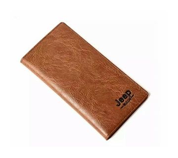 Jeep wallet For men-Brown