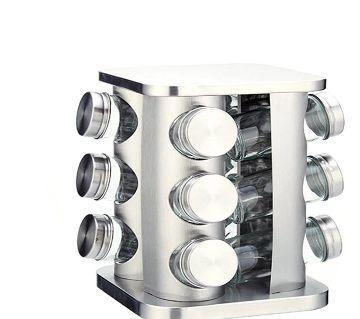 12 Pcs Rotery Seasoning Jar Set