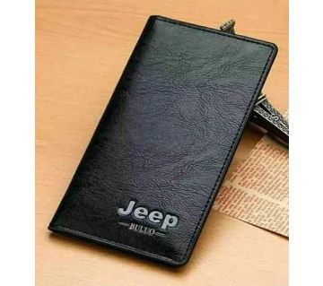 Leather Long Wallet for Men