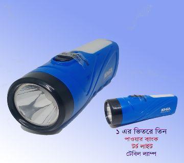 Power Bank (16000 MAH) +Torch Light+Table Lamp