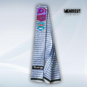 Premium Quality Stitched Cotton Fabric Lungi - Greatwall