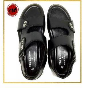Leather Formal Sandal for Men
