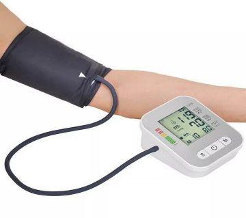 Digital Electronic Blood Pressure Monitor – White