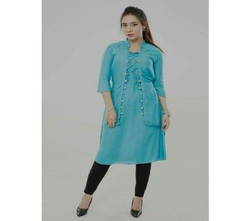 Unstitched China Linen Kurtis For Women