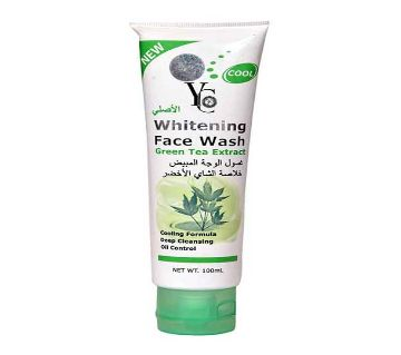 YC Face wash with Green Tea Extract 100 ML Thailand