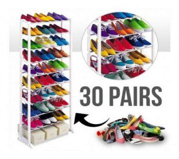 Amazing Shoe Rack With 10 Layer