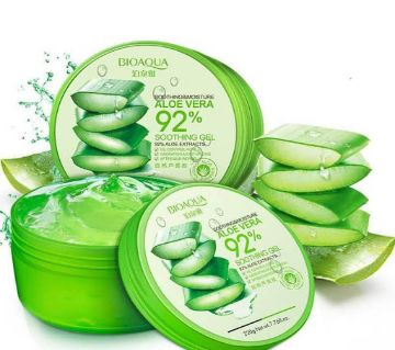 BIOAQUA 92% Aloe Vera Extracts Hydrating Acne Spot Removing Face Night Cream Replenishiment Soothing Long-lasting Gel 220g - China