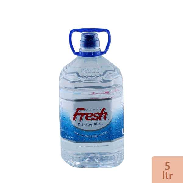 Super Fresh Drinking Water 5 ltr
