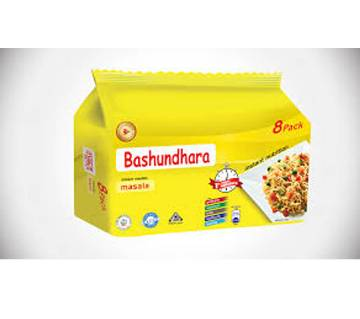 Bashundhara Instant Noodles Masala - 8 Packs