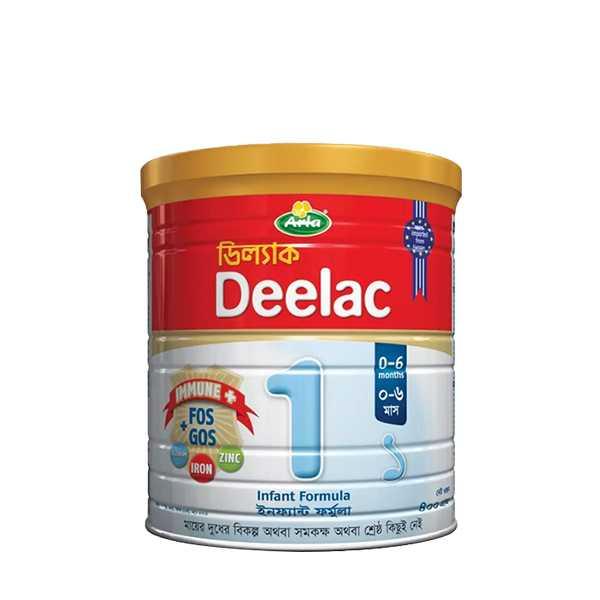 Arla Deelac Infant Formula 1 (0-6 Months) Tin 400 gm