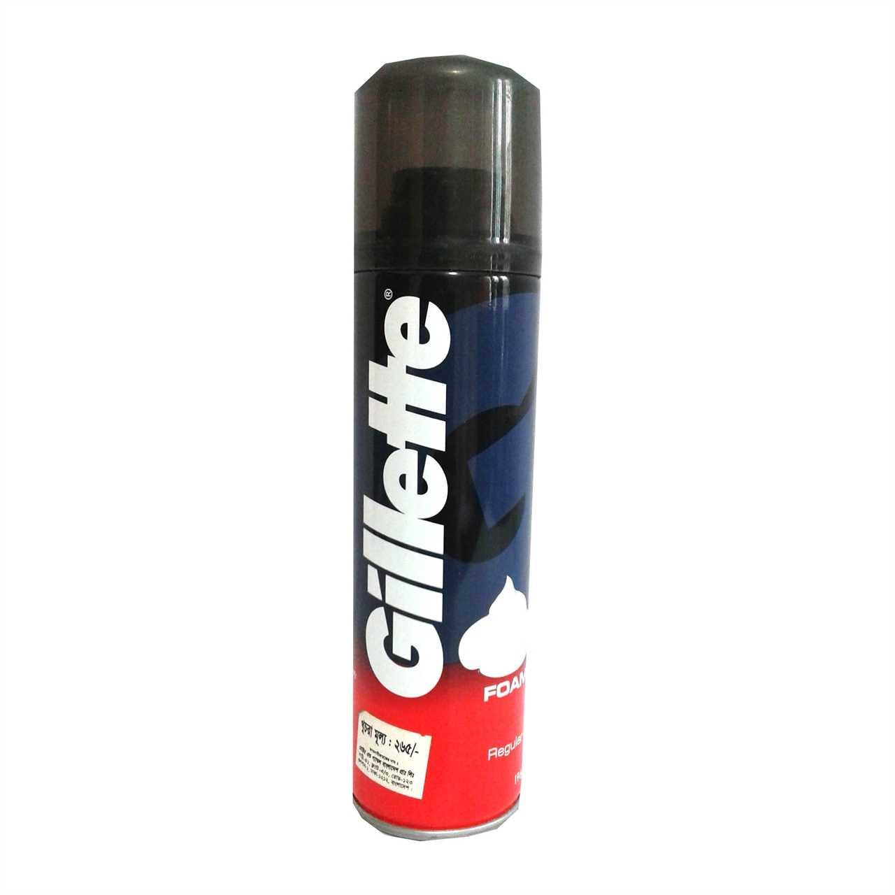 Gillette Shaving Foam Regular 196 gm