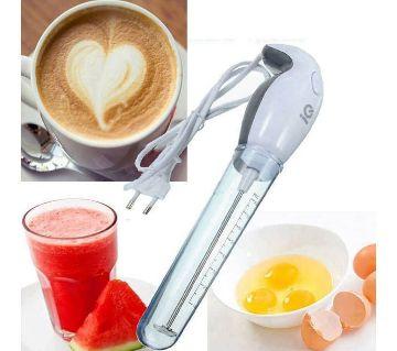 Handheld coffee mixer
