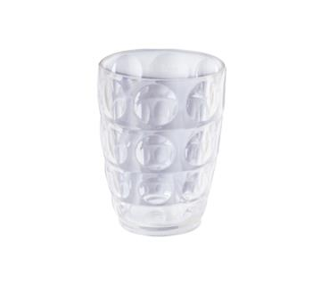 74201 PC Glass 0.5L - Transparent (Combo of 3)