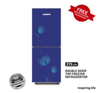 Linnex Refrigerator LNX-REF-215GD-TM-BLUE Lily