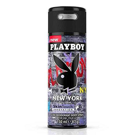 Playboy New York 24h Deodorant Body Spray 150 ml