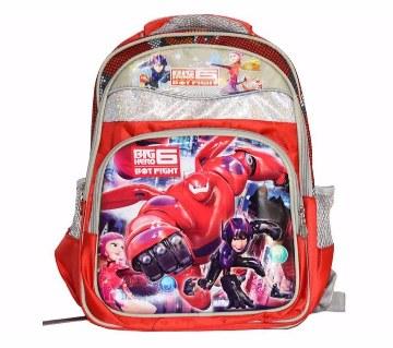 3D Big Hero স্কুল ব্যাক প্যাক ফর কিডস