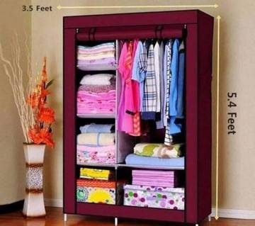 Wardrobe closet storage rack