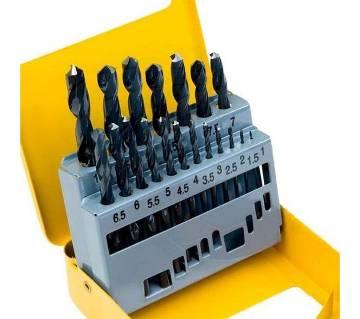 Tolsen 19Pcs HSS Twist Drill Bits Set
