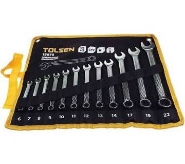 Tolsen 12 Pcs Spanner Set