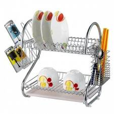 Double Layer Dish Drainer