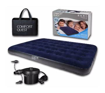 Bestway Inflatable Double Air bed with air pumper