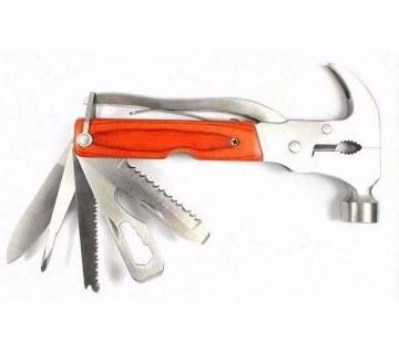 Multi function hammer 9 in 1 travel kit