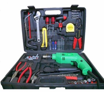 Handy drill machine set (100 pc)
