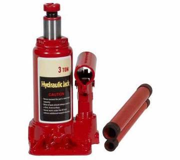 Hydraulic car jack 3 ton
