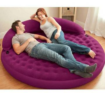 INTEX Round Shaped Inflatable Sofa