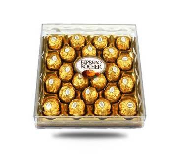 Ferrero Rocher চকোলেট বক্স (24 pieces/ Box)