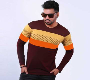 Mens long sleve t-shirt D650
