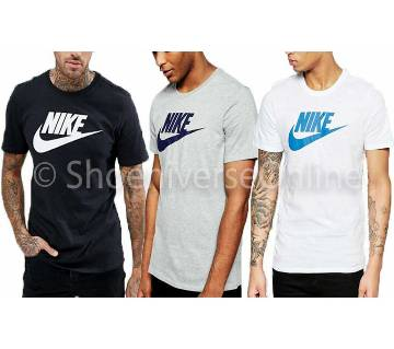 Mens Nike Cotton Round Neck  t-shirt Combo Pack