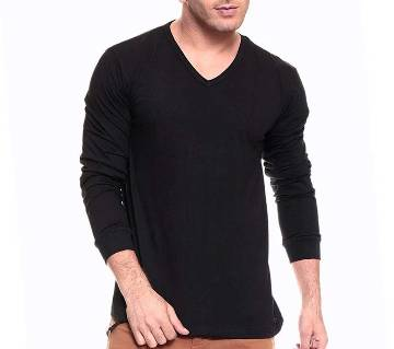 Full sleeve black gents Sweater
