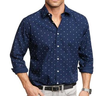 Check Slim Fit Shirt for Men 7852