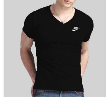 V-Neck Short Sleeve T-Shirt.