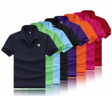 Gents short sleeve polo shirt combo offer (8 pc)