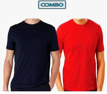 Round Neck t-shirt Combo Pack 2 piece