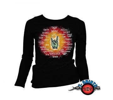 Bangla Rock Full Sleeve T-Shirt Black