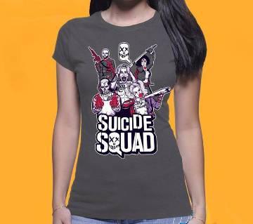 Suicide Squad টি-শার্ট ফর লেডিজ
