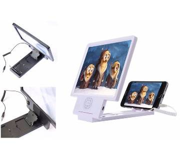 3D Enlarged Screen Magnifier - White