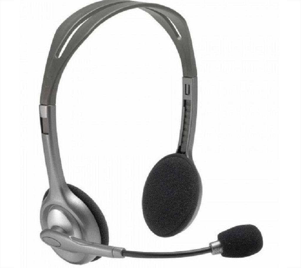 H110 Headphone Logitech Double Port বাংলাদেশ - 631399