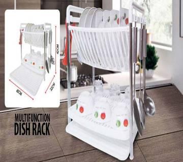 Multi Function Folding Dish Rack