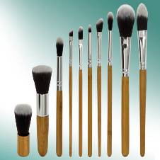 Bamboo brush Set 11 Pcs Set