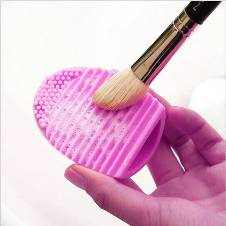 Brush Egg Shape brush Cleaner