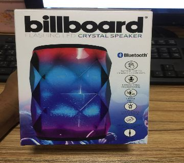 Billboard Bluetooth Flashing Led Crystal Speaker