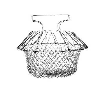 Shape basket strainer net