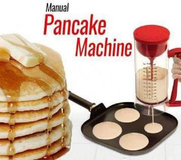 Manual pancake maker